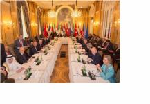 بدء الاجتماع الموسع في فيينا لبحث التسوية السياسية للأزمة السورية