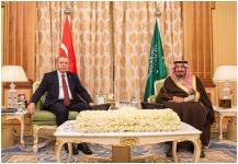 قمة سعودية تركية لتعزيز التعاون المشترك