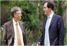 تعهد غيتس ووزير المال البريطاني بالقضاء على الملاريا