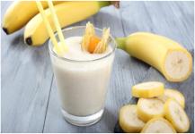 فوائد شراب الموز